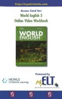 Heinle ELT part of Cengage Lea WORLD ENGLISH 3 ONLINE VIDEO WORKBOOK - MILNER, M., JOHANNSE... cena od 0 Kč