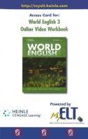 Heinle ELT part of Cengage Lea WORLD ENGLISH 3 ONLINE VIDEO WORKBOOK - MILNER, M., JOHANNSE... cena od 266 Kč