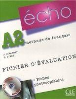 CLE international ECHO A2 Fichier d´évaluation + CD cena od 685 Kč