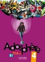 HACH-FLE ADOSPHERE 4 LIVRE D´ELEVE + AUDIO CD - HIMBER, C., POLETTI, ... cena od 305 Kč