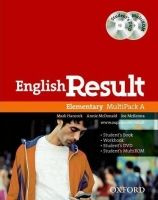 XXL obrazek OUP ELT ENGLISH RESULT ELEMENTARY STUDENT´S MULTIPACK A - HANCOCK, P...