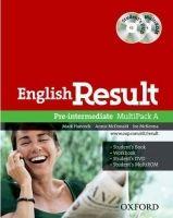 OUP ELT ENGLISH RESULT PRE-INTERMEDIATE MULTIPACK A - HANCOCK, P., M... cena od 350 Kč