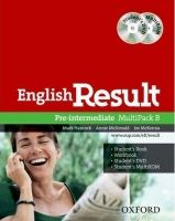 OUP ELT ENGLISH RESULT PRE-INTERMEDIATE MULTIPACK B - HANCOCK, P., M... cena od 350 Kč