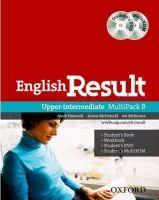 OUP ELT ENGLISH RESULT UPPER INTERMEDIATE MULTIPACK B - HANCOCK, P.,... cena od 333 Kč