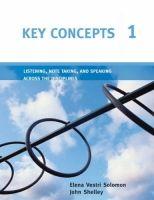 Heinle ELT KEY CONCEPTS 1: LISTENING, NOTE TAKING AND SPEAKING ACROSS T... cena od 496 Kč