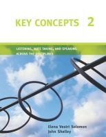 Heinle ELT KEY CONCEPTS 2: LISTENING, NOTE TAKING AND SPEAKING ACROSS T... cena od 485 Kč