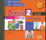 CLE international AMIS ET COMPAGNIE 2 CD INDIVIDUEL - COLETTE, S. cena od 157 Kč