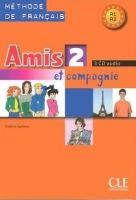 CLE international AMIS ET COMPAGNIE 2 CD /3/ CLASSE - COLETTE, S. cena od 1066 Kč
