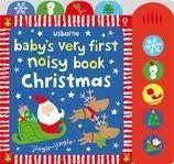 Usborne Publishing NOISY BOOK CHRISTMAS (BABY VERY FIRST) - BAGGOTT, S. cena od 331 Kč