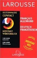 LAROUSSE DICTIONNAIRE COMPACT: ALLEMAND / FRANCAIS - FRANCAI... cena od 631 Kč