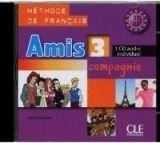 CLE international AMIS ET COMPAGNIE 3 CD INDIVIDUEL - COLETTE, S. cena od 217 Kč