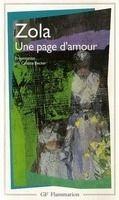 Flammarion UNE PAGE D´AMOUR - ZOLA, E. cena od 188 Kč