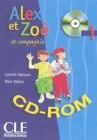 CLE international ALEX ET ZOE 1 CD-ROM INTERACTIVE - SAMSON, C. cena od 232 Kč