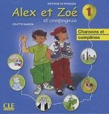 CLE international ALEX ET ZOE ET COMPAGNIE 1 CD Chansons & Comptines cena od 142 Kč