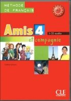 CLE international AMIS ET COMPAGNIE 4 3CD cena od 1107 Kč