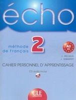 CLE international ECHO 2 Cahier personnel d´apprentissage + CD audio - GIRARDE... cena od 226 Kč