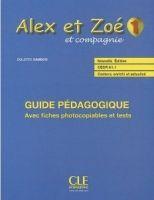 CLE international ALEX ET ZOE ET COMPAGNIE 1 Guide pédagogique cena od 409 Kč