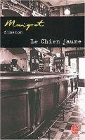 HACH-BEL LE CHIEN JAUNE - SIMENON, G. cena od 133 Kč