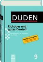 Bibliographisches Institut DUDEN Band 9 - RICHTIGES UND GUTES DEUTSCH (7. Auflage) cena od 469 Kč