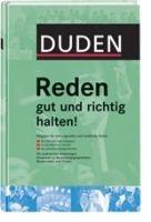 Bibliographisches Institut DUDEN REDEN GUT UND RICHTIG HALTEN! (3. Auflage) cena od 312 Kč