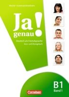 Cornelsen Verlagskontor GmbH JA GENAU! B1 BAND 1 KURS- und ÜBUNGSBUCH mit AUDIO CD - BÖSC... cena od 243 Kč