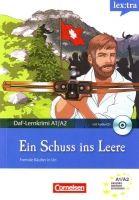 Cornelsen Verlagskontor GmbH DaF-LERNKRIMI A1-A2: EIN SCHUSS INS LEERE mit AUDIO CD - DIT... cena od 165 Kč