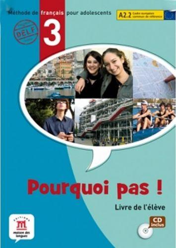 Pourquoi Pas 3 – Livre de léleve + CD cena od 423 Kč