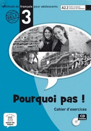 Pourquoi Pas 3 – Cahier dexercices + CD cena od 280 Kč
