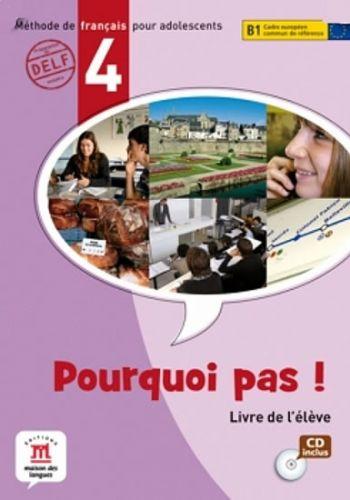 Pourquoi Pas 4 – Livre de léleve + CD cena od 406 Kč