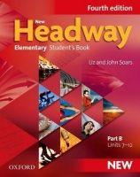 OUP ELT NEW HEADWAY FOURTH EDITION ELEMENTARY STUDENT´S BOOK Part B ... cena od 319 Kč