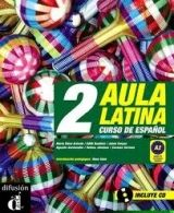 Difusión AULA LATINA 2 LIBRO DEL ALUMNO + CD - JIMENEZ, H. cena od 508 Kč