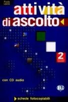 ELI s.r.l. ATTIVITA' DI ASCOLTO 2 - Photocopiable + CD cena od 671 Kč
