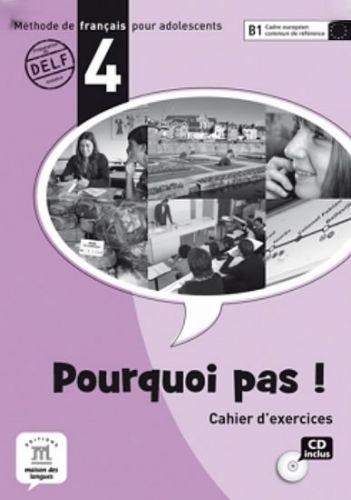 Pourquoi Pas 4 – Cahier dexercices + CD cena od 280 Kč