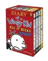 Penguin Group UK DIARY OF A WIMPY KID BOX OF BOOKS - KINNEY, J. cena od 549 Kč