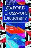 XXL obrazek OUP References OXFORD CROSSWORD DICTIONARY