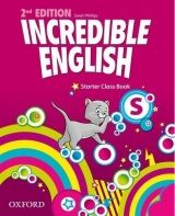 OUP ELT INCREDIBLE ENGLISH 2nd Edition STARTER CLASS BOOK - PHILLIPS... cena od 244 Kč