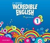 OUP ELT INCREDIBLE ENGLISH 2nd Edition 1 CLASS AUDIO CDs /3/ - PHILL... cena od 658 Kč