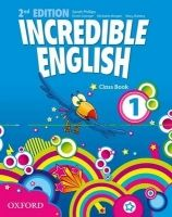 OUP ELT INCREDIBLE ENGLISH 2nd Edition 1 CLASS BOOK - PHILLIPS, S. cena od 232 Kč
