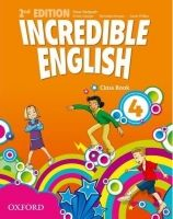 OUP ELT INCREDIBLE ENGLISH 2nd Edition 4 CLASS BOOK - PHILLIPS, S. cena od 244 Kč