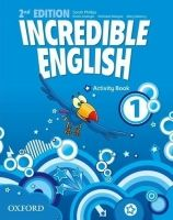 Phillips Sarah: Incredible English 2nd Edition 1 Activity Book - Phillips Sarah cena od 164 Kč