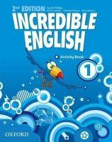 Phillips Sarah: Incredible English 2nd Edition 1 Activity Book - Phillips Sarah cena od 172 Kč
