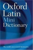 OUP References OXFORD LATIN MINIDICTIONARY Second Edition Revised - MORWOOD... cena od 122 Kč