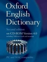OUP References OXFORD ENGLISH DICTIONARY Second Edition on CD-ROM Version 4... cena od 3870 Kč