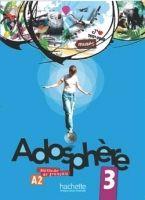 HACH-FLE ADOSPHERE 3 LIVRE D´ELEVE + AUDIO CD - HIMBER, C., POLETTI, ... cena od 454 Kč