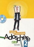 HACH-FLE ADOSPHERE 2 CAHIER D´ACTIVITÉS + CD-ROM - HIMBER, C., POLETT... cena od 203 Kč