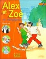 CLE international ALEX ET ZOE 2 LIVRE DE L´ELEVE - SAMSON, C. cena od 234 Kč