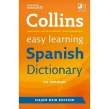 XXL obrazek Harper Collins UK COLLINS EASY LEARNING SPANISH DICTIONARY