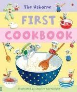 Usborne Publishing FIRST COOKBOOK - WILKES, A. cena od 353 Kč