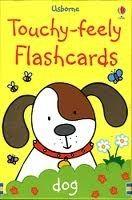 Usborne Publishing TOUCHY FEELY FLASHCARDS - WATT, F. cena od 158 Kč