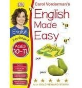 Dorling Kindersley ENGLISH MADE EASY AGES 10-11 KEY STAGE 2 - VORDERMAN, C. cena od 72 Kč